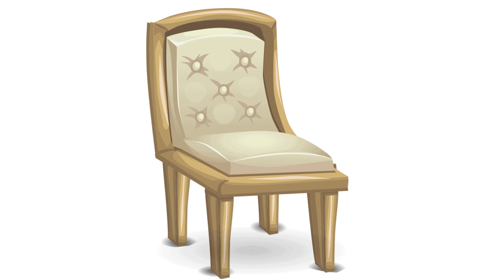 Sit on a chair
