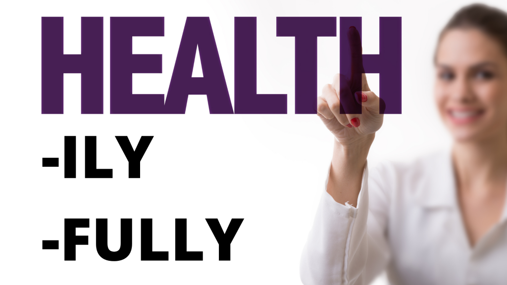 Healthily vs Healthfully? Which is Correct?