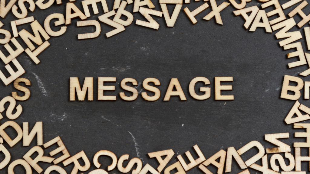 messege or message