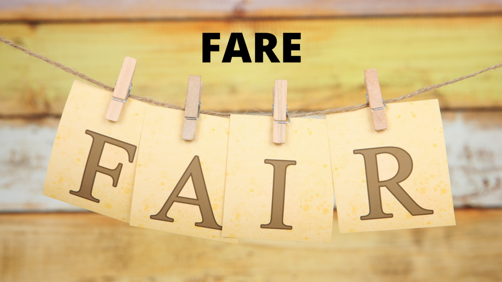 Fare vs Fair? What is the Difference?