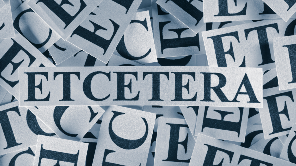 Et Cetera or Etcetera? Which is the Correct U.S. Spelling?