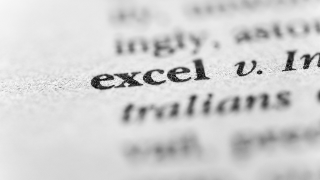 Excel vs Excell? What's the Difference?