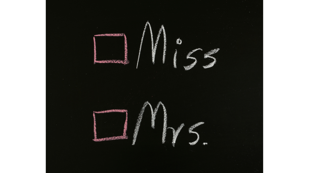 Ms, Miss, Mrs? What's the Difference?